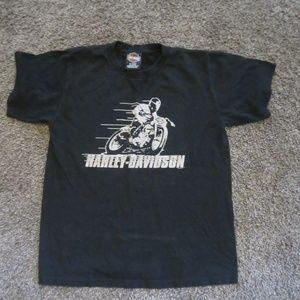 Harley Davidson Womens M Black t-shirt
